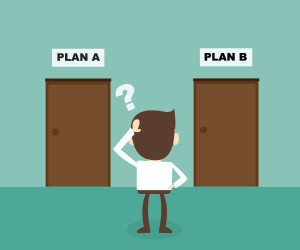 Plan A vs Plan B 300x250 - When Is Managed Services for IT The Right Time?